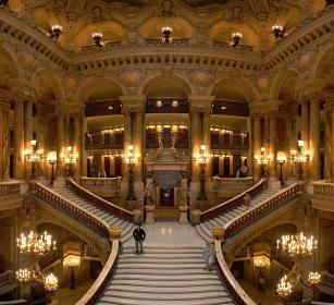 Opéra National De Paris  (is the primary opera company of Paris) - Opéra Garnier - Paris - France